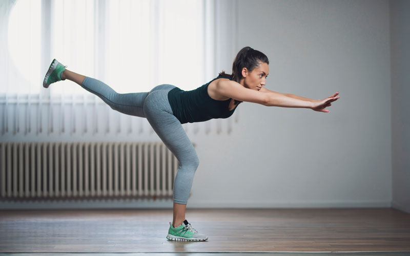 Why you should add balance exercises to your workout