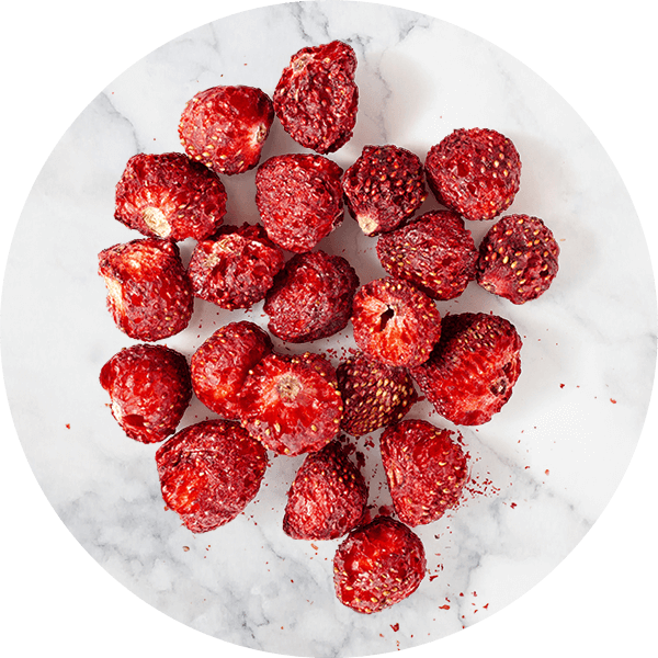 Table Top freeze-dried strawberries